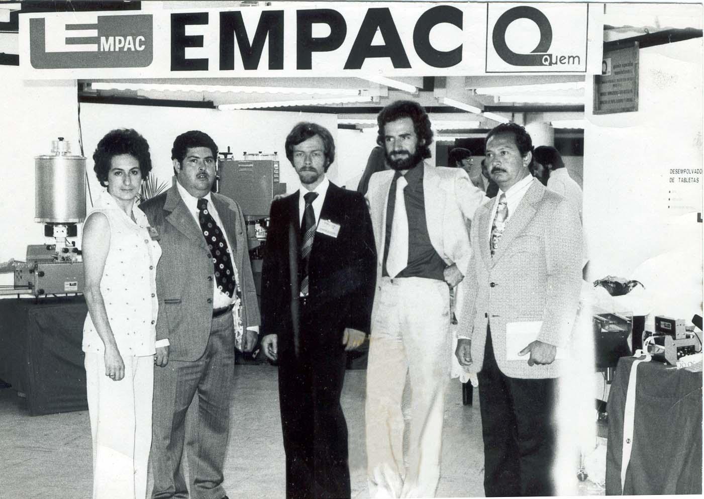 Grupo Empac en Expofarma 1976