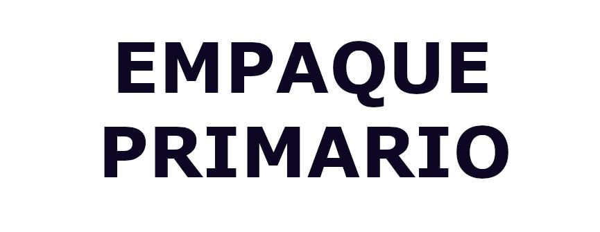 EMPAQUE PRIMARIO