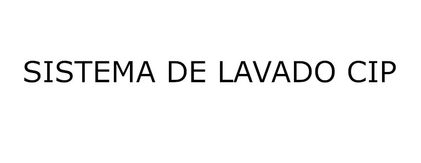 SISTEMA DE LAVADO CIP